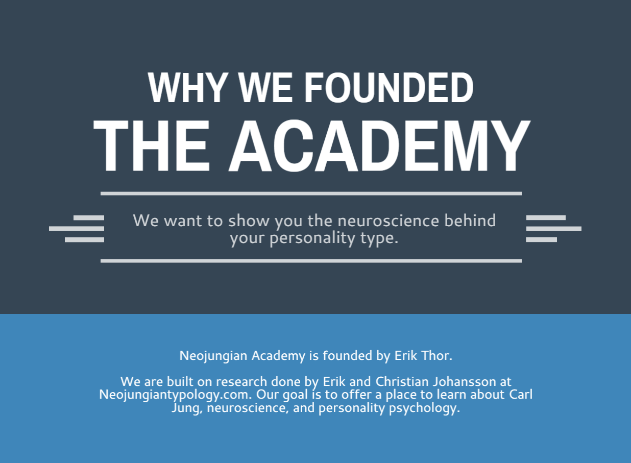 Neuroscience: The Key To Your Personality Type