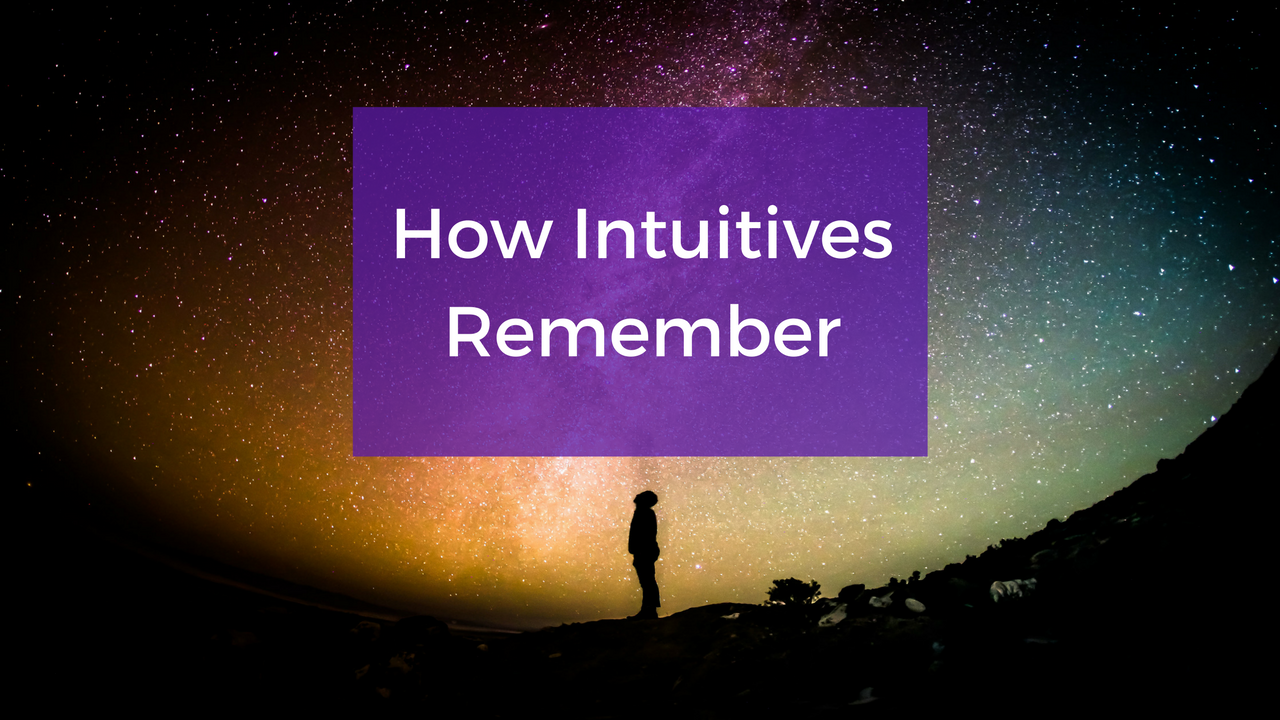 Do You Have An Intuitive Memory?