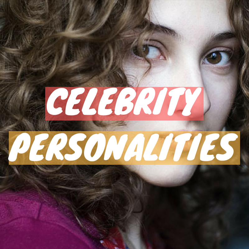 celebrity personalities, celebrity types, famous personality types, how to type famous people, how to type celebrities