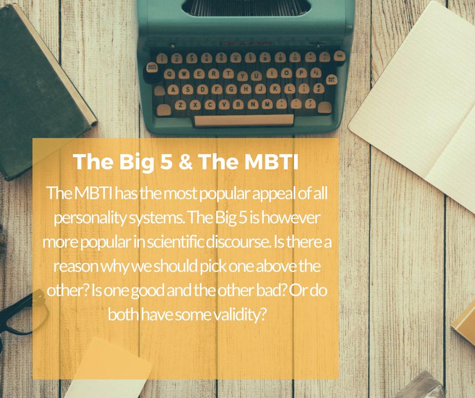 MBTI Big 5