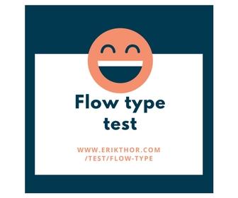 Flow type test, personality test, mbti test, enneagram test, mbti