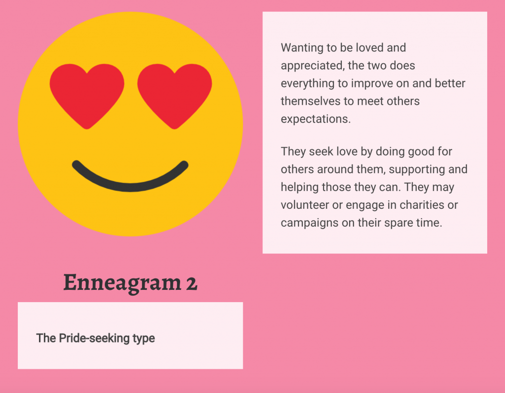 Enneagram 2 Personality type