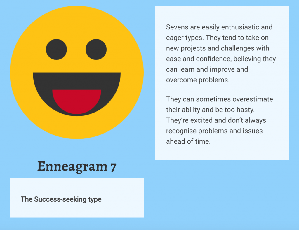 Enneagram 7 Personality Type