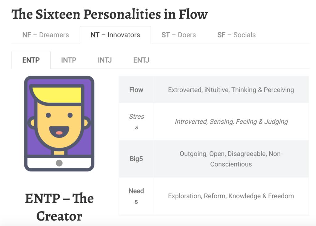 ENTP, Myers Briggs Type Indicator, MBTI, 16 Personalities, MBTI Personality Types