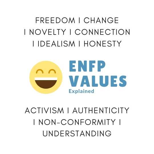 What is an ENFPs Core Values?