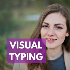 Visual typing, body language, facial expressions, personality type and body language