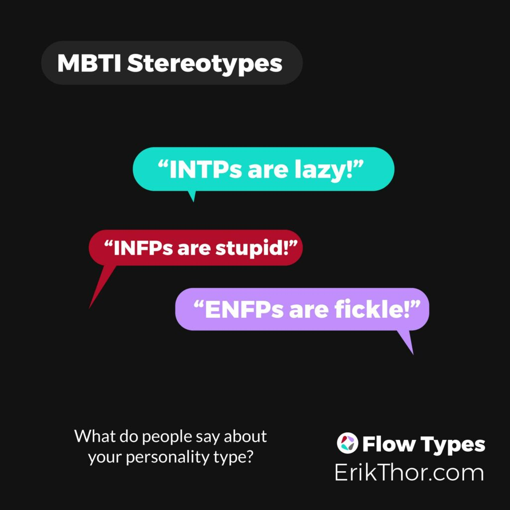 MBTI Stereotypes, NF Stereotypes, Personality type stereotypes, 16 personalities stereotypes